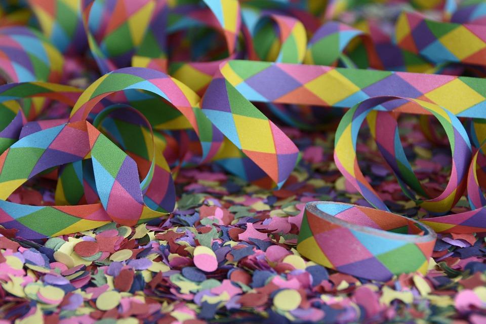 Bildergebnis für konfetti fasnacht
