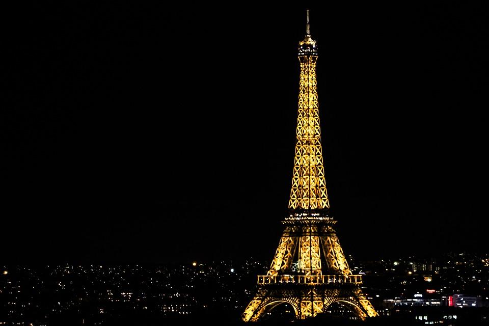 Eiffel Tower Night · Free Photo On Pixabay