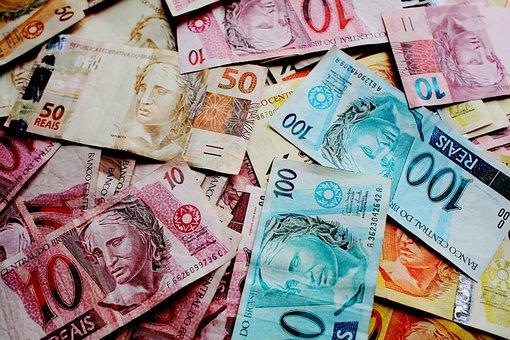 Cédulas, Dinheiro, Real, Nota
