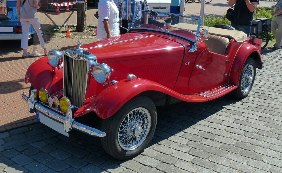 Oldtimer Old Cars Mg · Free photo on Pixabay