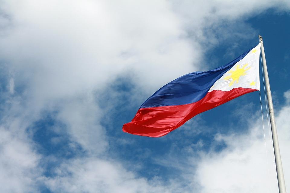 Philippines Flag Filipino Nation Asia Flying