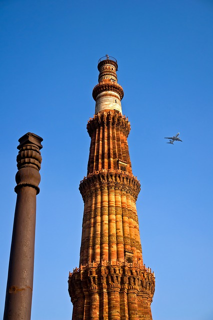Free photo ashoka pillar qutab minar india free image for Ashoka cuisine of india