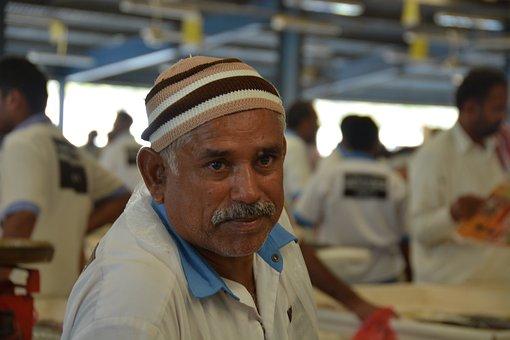 ドバイ, 魚市場, 労働者, ショータイム, プライド