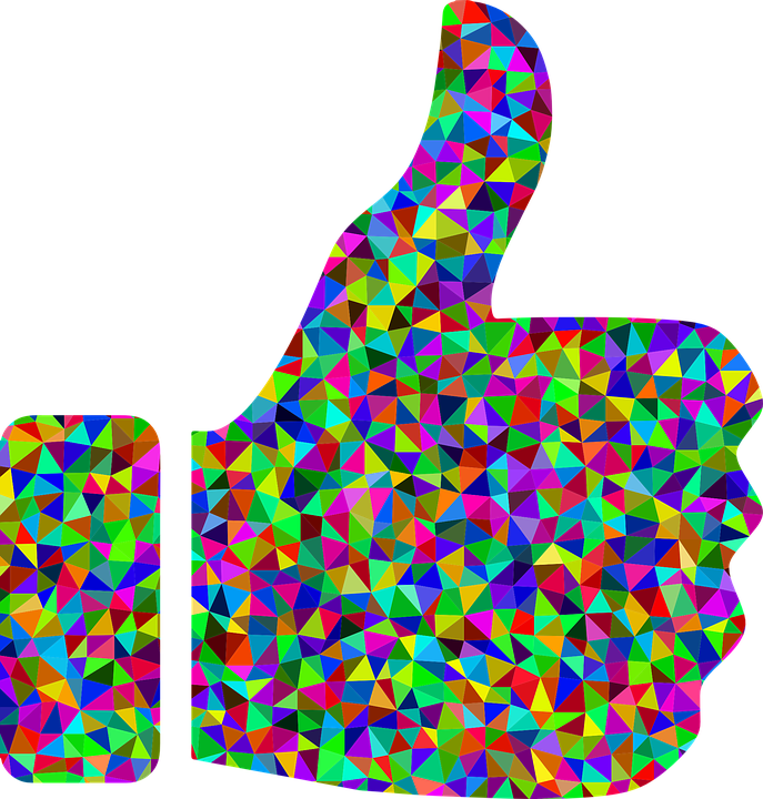 thumbs up hand approve · free vector graphic on pixabay