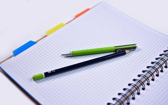Notebook, Penna, Matita, Educazione