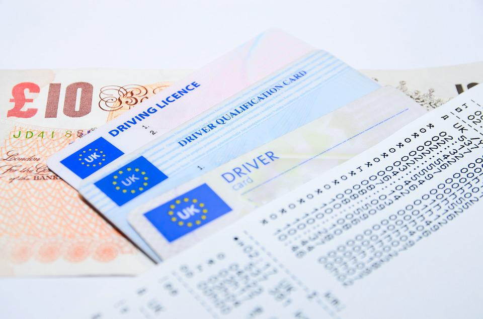 driving license for car insurance