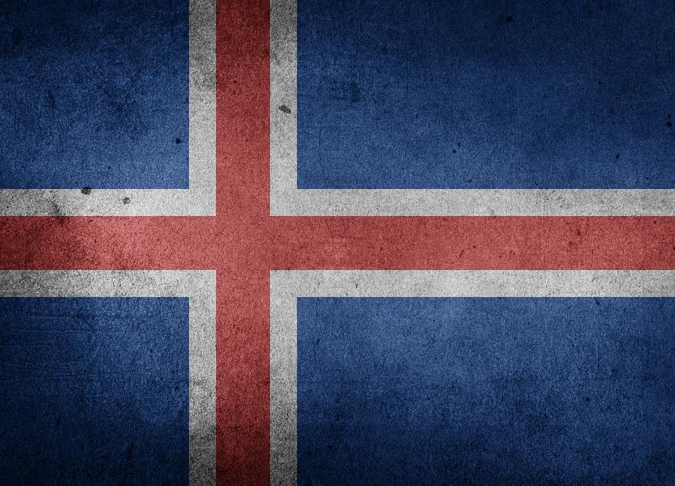 Flag of Iceland HD desktop wallpaper