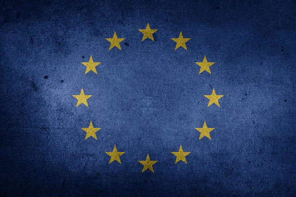 Flag, European Union, Brexit, Europe, Grunge