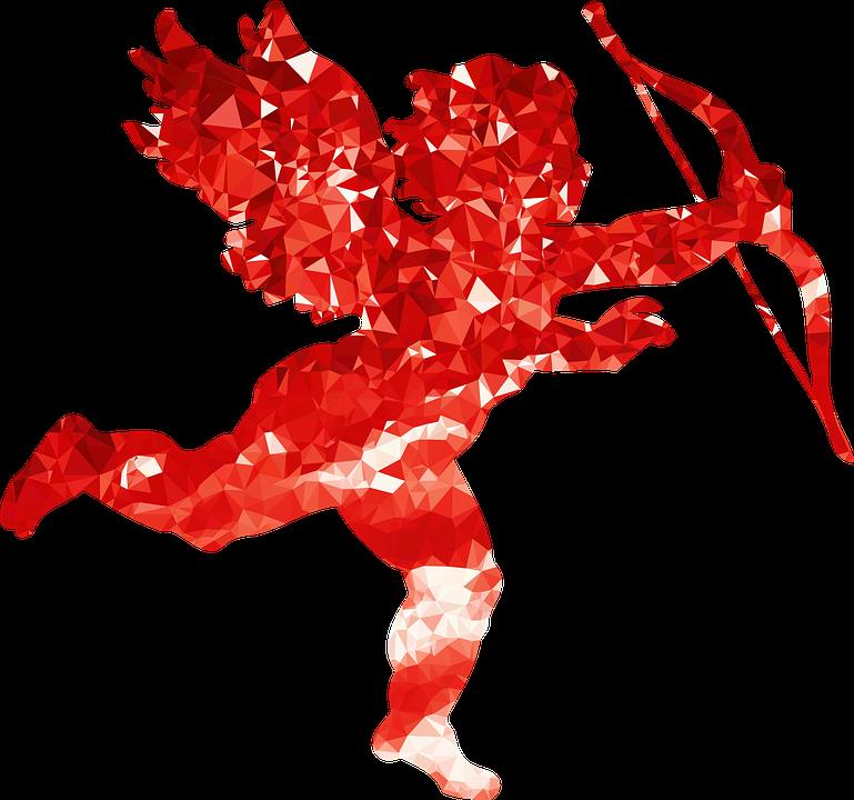 Free vector graphic: Cupid, Angel, Arrow, Bow, Cartoon - Free Image on ...