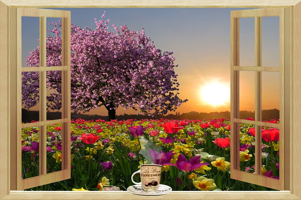 kostenlose illustration guten morgen fr hling kostenloses bild auf pixabay 1199257. Black Bedroom Furniture Sets. Home Design Ideas