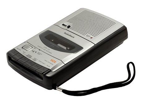 レコーダー, カセット, 内蔵マイク, ラジオシャック