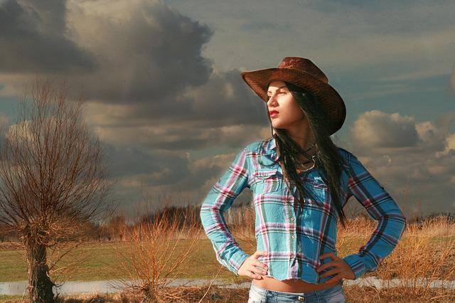 Free photo: Cowgirl, Western, Wild West, Hats