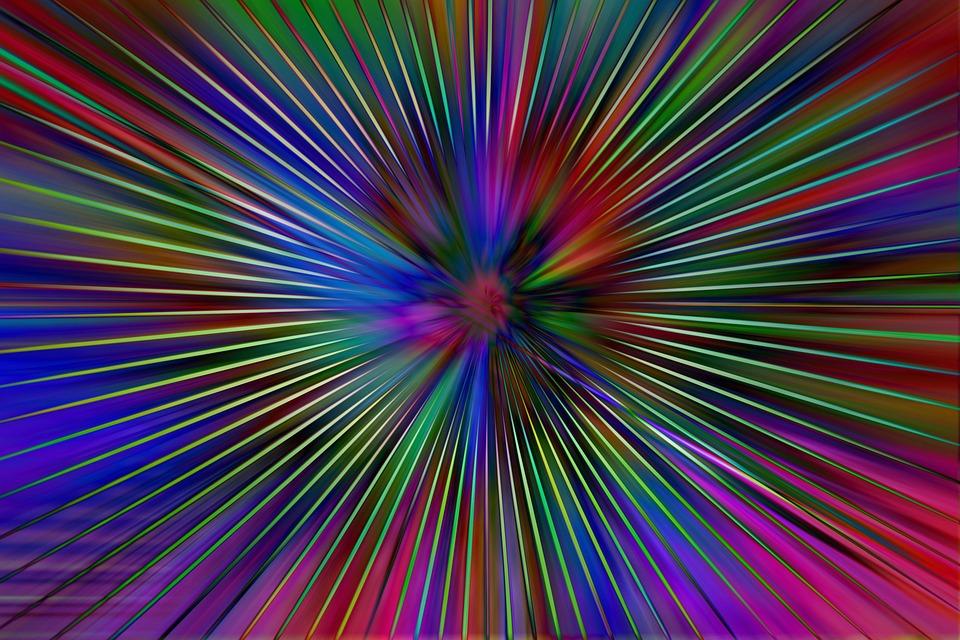 Rays Colorful Laser 183 Free Image On Pixabay