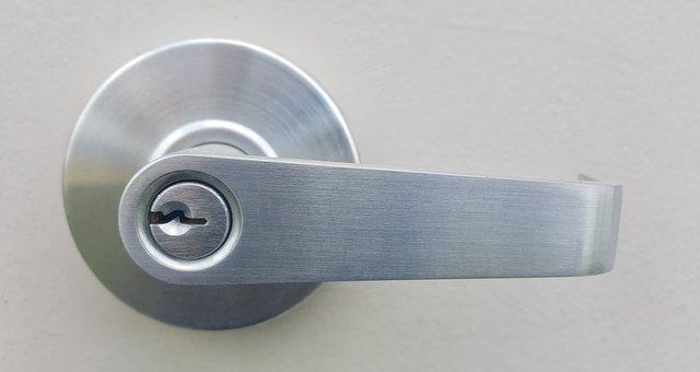 Handle Door Handle Doorknob Lock Entrance