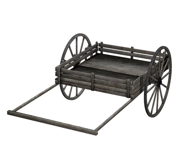 Free Illustration Cart Wooden Cart Dare Isolated
