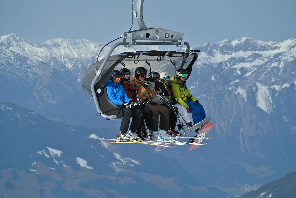 ski lift skiing snowboarding - photo #6