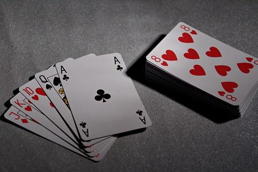 Playing Cards, Poker, Bridge, Game, Ace