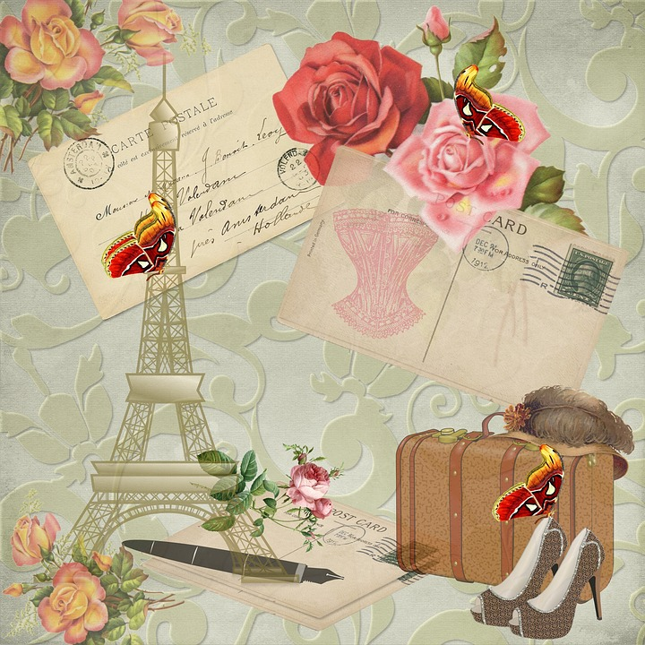 free illustration vintage paper - photo #2