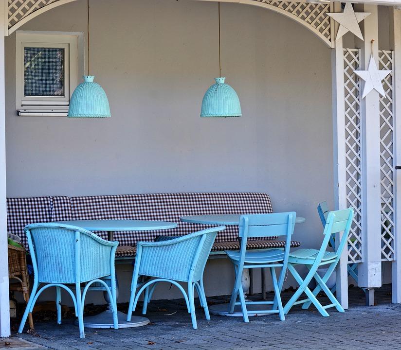 Kostenloses Foto: Sitzplatz, Stühle, Tische - Kostenloses Bild auf ...