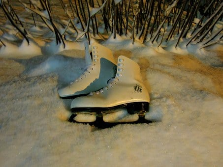Skates, Snow, Two, A Couple Of, The Land