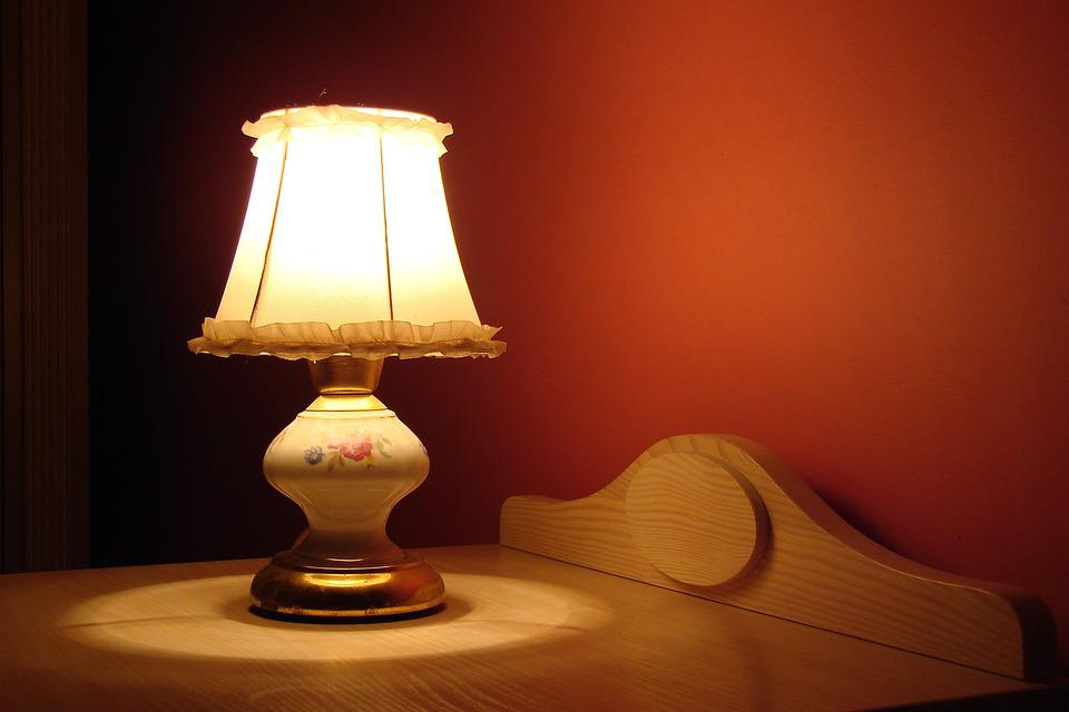 Lamp, Bedroom, Climate, Light, Mood, Magic, Silence