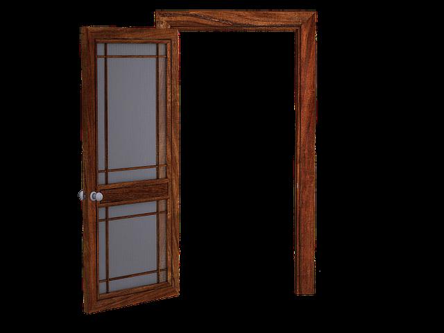 kostenlose illustration t r offene t r holzt r. Black Bedroom Furniture Sets. Home Design Ideas