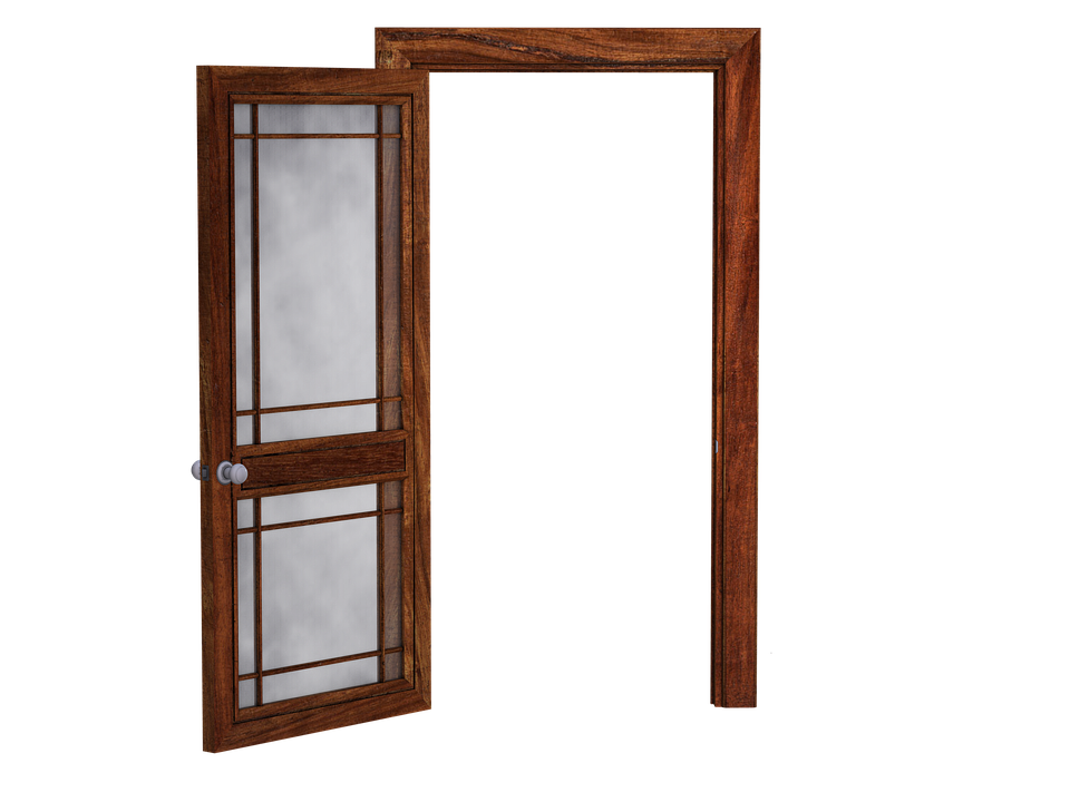 Door Open Wooden Glass Free Image On Pixabay