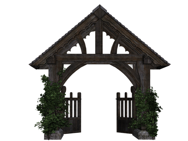 Goal Garden Gate Wooden 183 Free Image On Pixabay