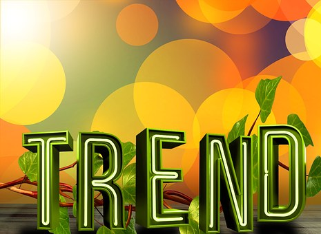 TREND written on a colorful background to say popular affiliate networks and programs