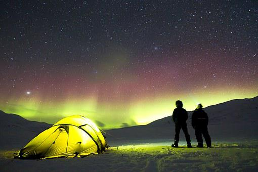 Auroras C& Tent Adventure Fire Holiday N & Tent Holidays - Free pictures on Pixabay