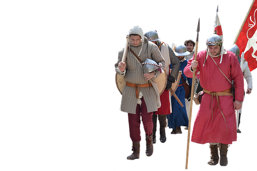 Gear Middle Ages Soldiers Army Feudal Reen