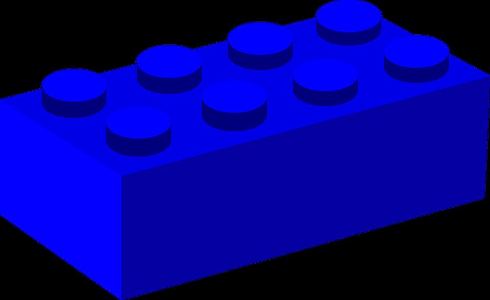 brick building block plastic free vector graphic on pixabay