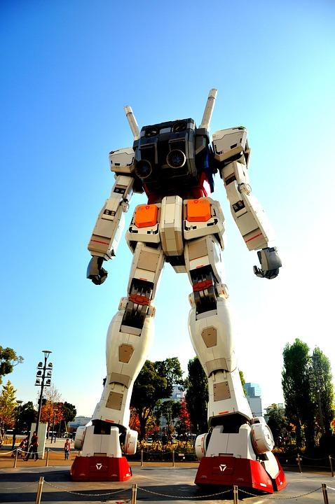 robot gundam anime  u00b7 free photo on pixabay