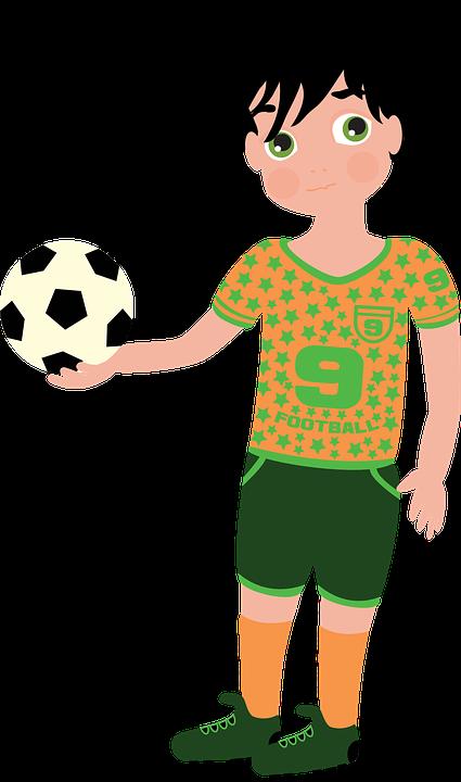 Jalkapalloilija, Jalkapallo, Urheilu, Peli, Poika