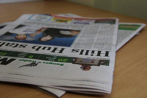 Periódico, Noticias, De Impresión