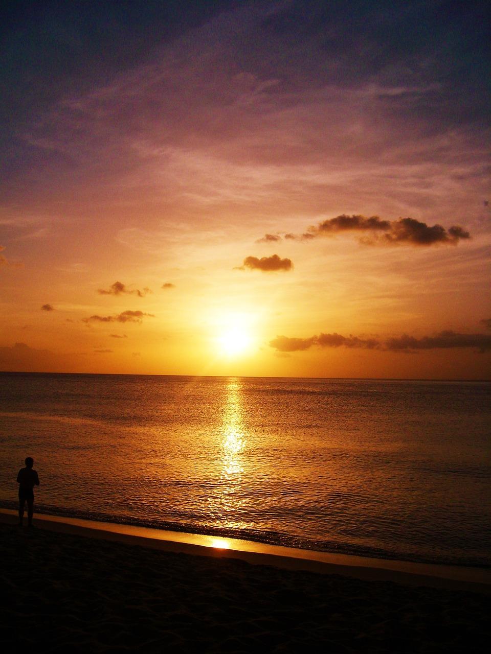 картинки про закат на море своему