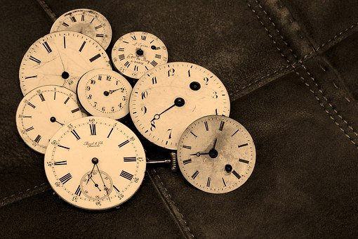 Relojes, Antigua, Antigüedad