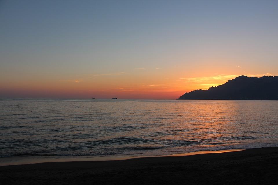 Tramonto costiera amalfitana foto gratis su pixabay for Sfondi desktop tramonti