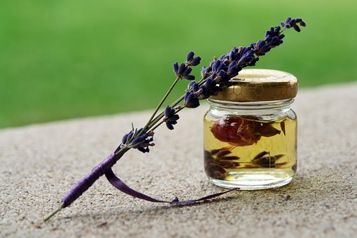 Óleo, Rose, Aroma, Aromaterapia