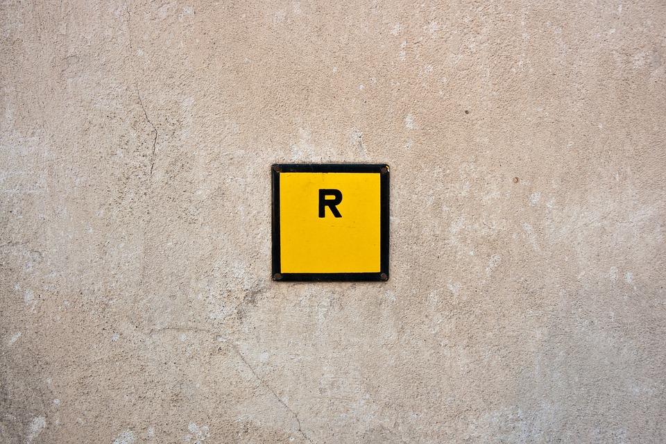R Sign Symbol Free Photo On Pixabay
