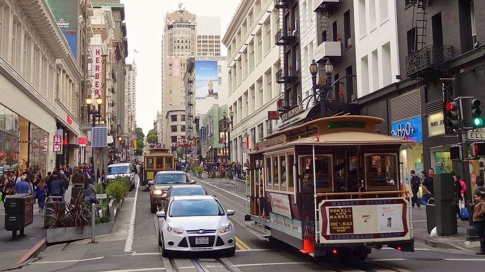 米国, アメリカ, サンフランシスコ, カリフォルニア