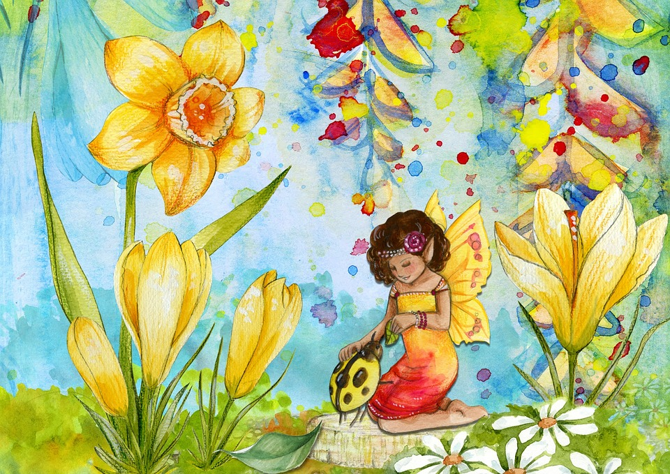 Free illustration: Fairy, Fantasy, Art, Scene, Design ...