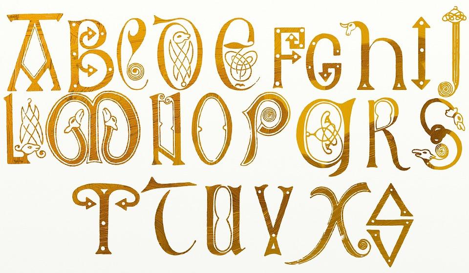 Favorit Illustration gratuite: Alphabet, Texte, Type, Typographie - Image  YZ41
