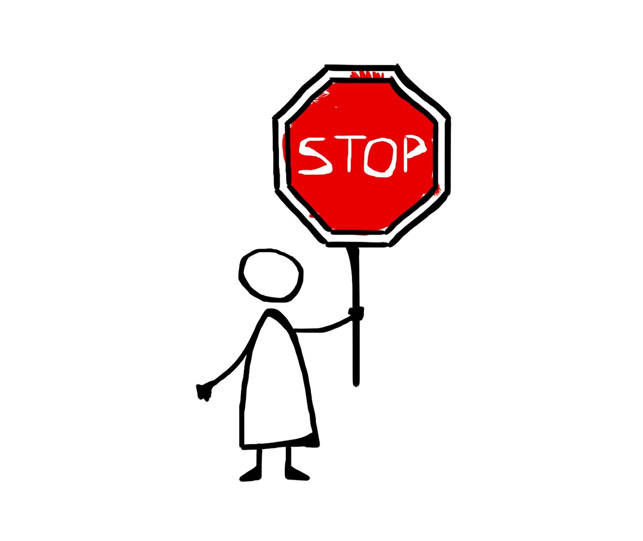 Stop Drawing Icon Free Image On Pixabay
