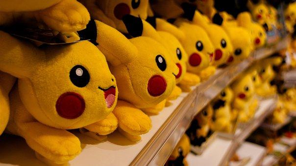 Pikachu, Pokemon, Store, Pokemon Store