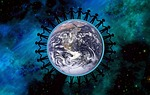 earth, peace, together