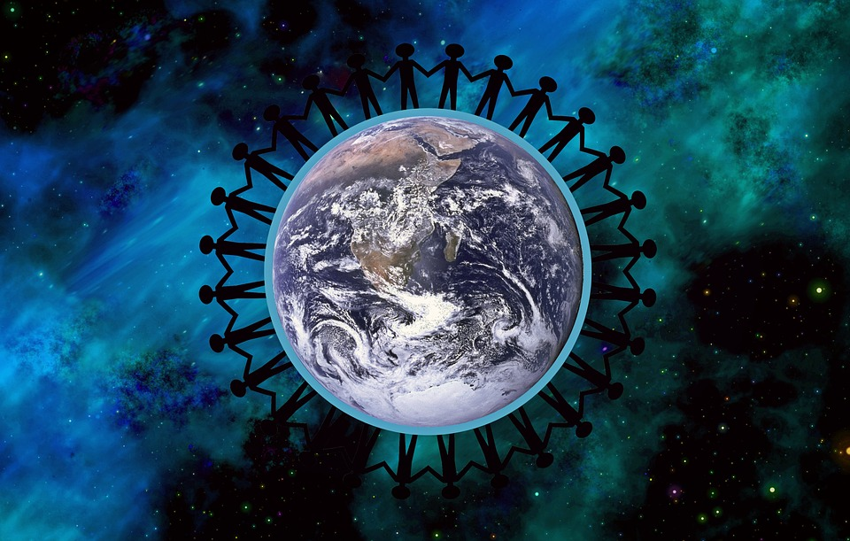 Earth, Peace, Together, Symbol, Community