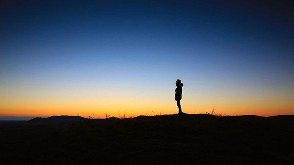 Zachód Słońca, Pokój, Samotność, Spokój