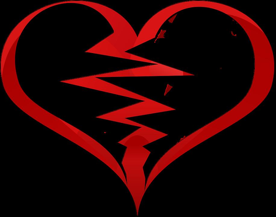 หัวใจที่แตกสลาย รัก การสูญเสีย - ภาพฟรีบน Pixabay