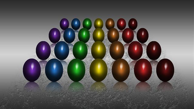 Illustrazione gratis uovo uova di pasqua uova colorate - Modello di uovo stampabile gratuito ...